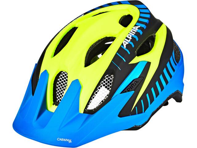 Alpina Carapax Flash Cykelhjälm Barn flerfärgad